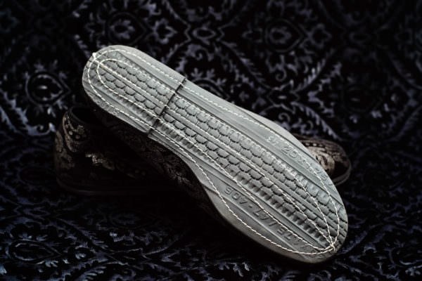 slipper black silver woman nicolao atelier venice 3