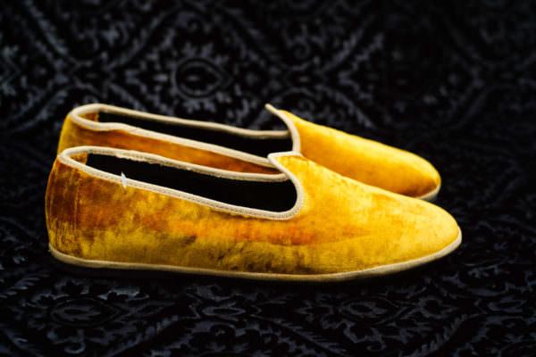 slipper gold woman nicolao atelier venice 1