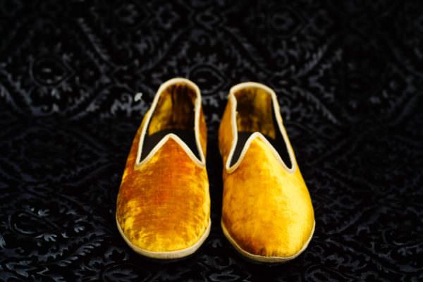 slipper gold woman nicolao atelier venice 3