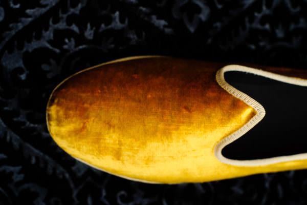 slipper gold woman nicolao atelier venice 4