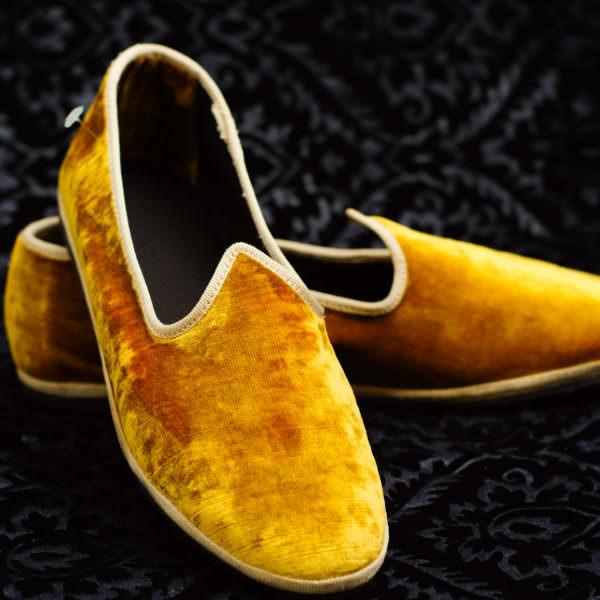 pantofola oro donna nicolao atelier venezia