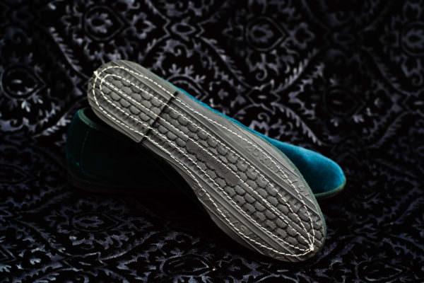 teal slipper woman nicolao atelier venice 2