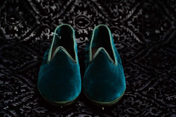 teal slipper woman nicolao atelier venice 3