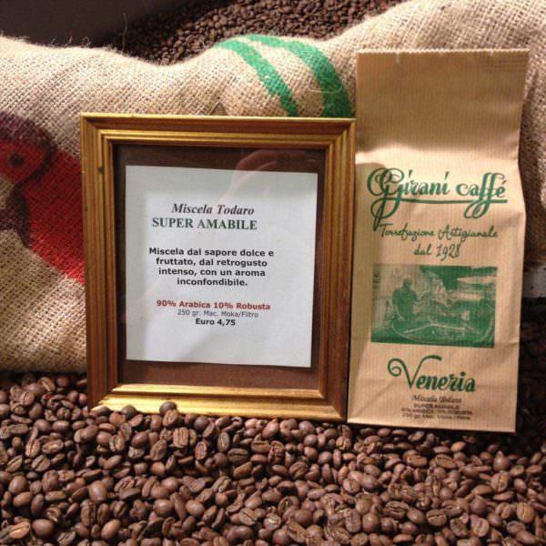 Miscela Todaro - Super Amabile girani caffé venezia