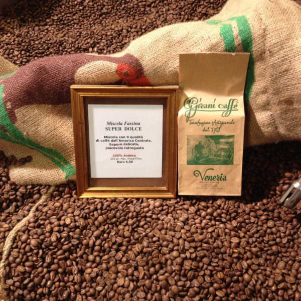 miscela fassina super dolce girani caffé venezia