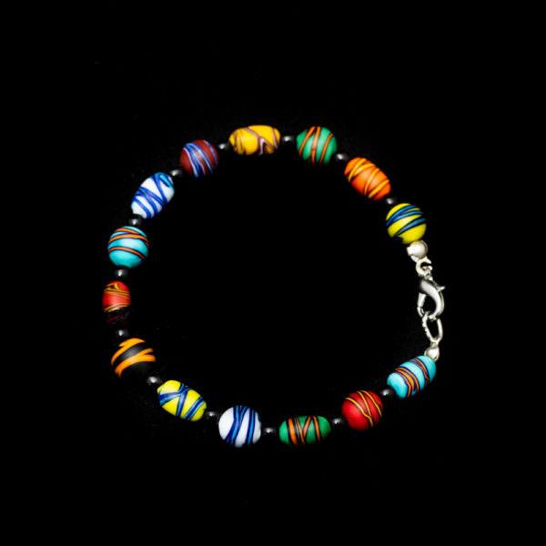 braccialetto scarabocchio ercole moretti venezia