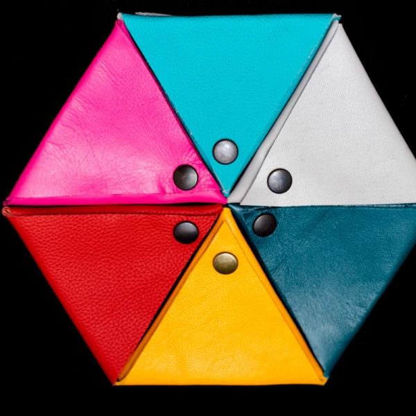 Portamonete triangolo