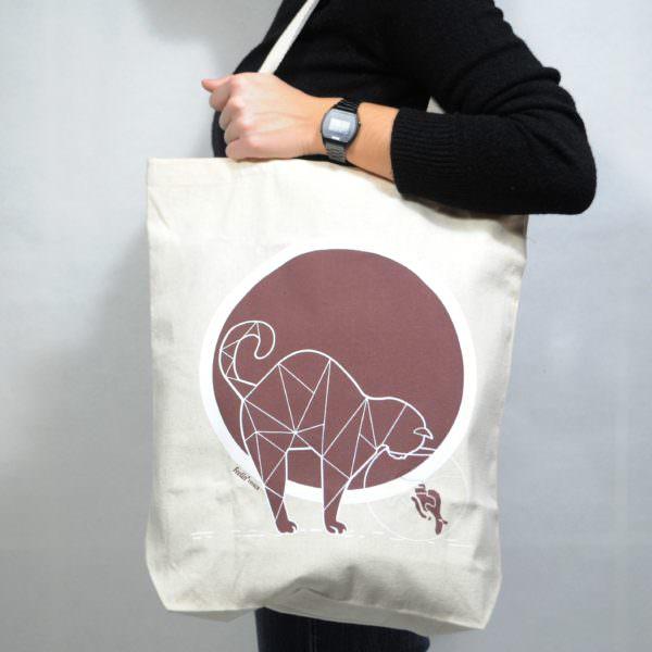 Shopper bag cat