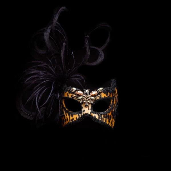 Dama leopardo - beba maschere