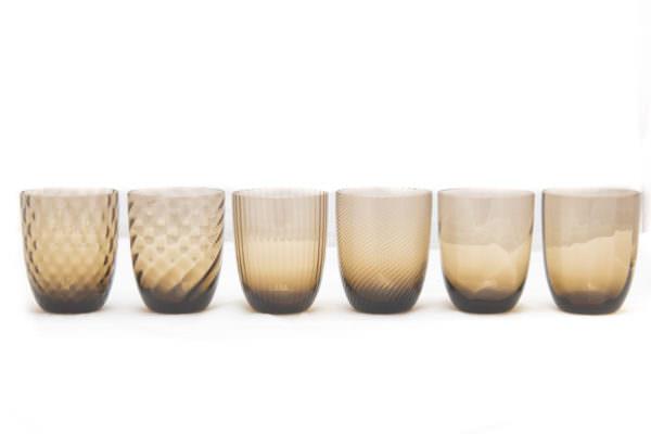 Idra bicchiere vetro- Nason Moretti