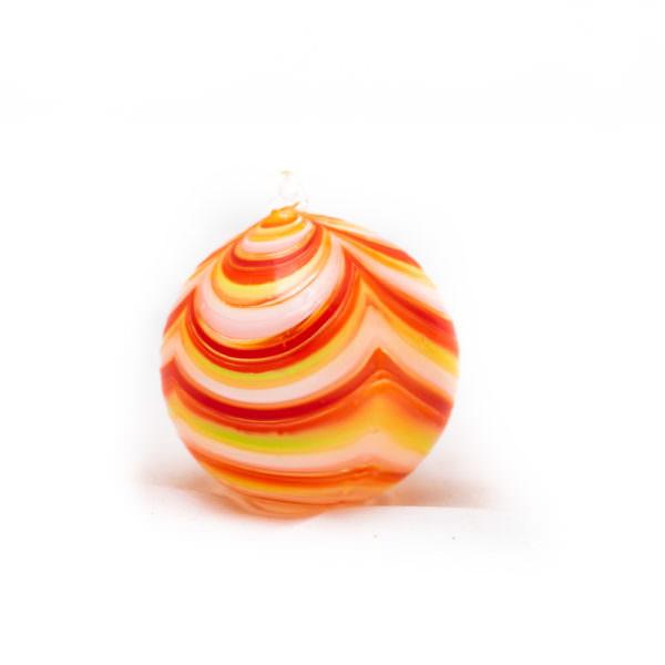 Palla di natale arancio - Mauro Bon