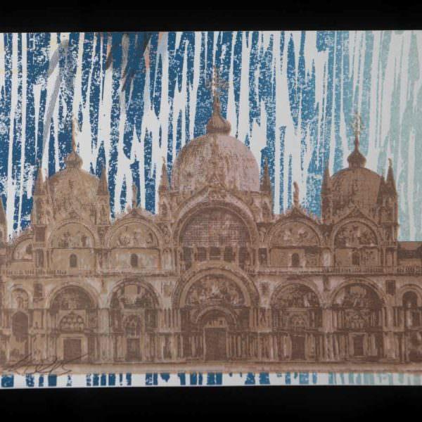 Serigrafia Basilica di San Marco - Fallani Venezia
