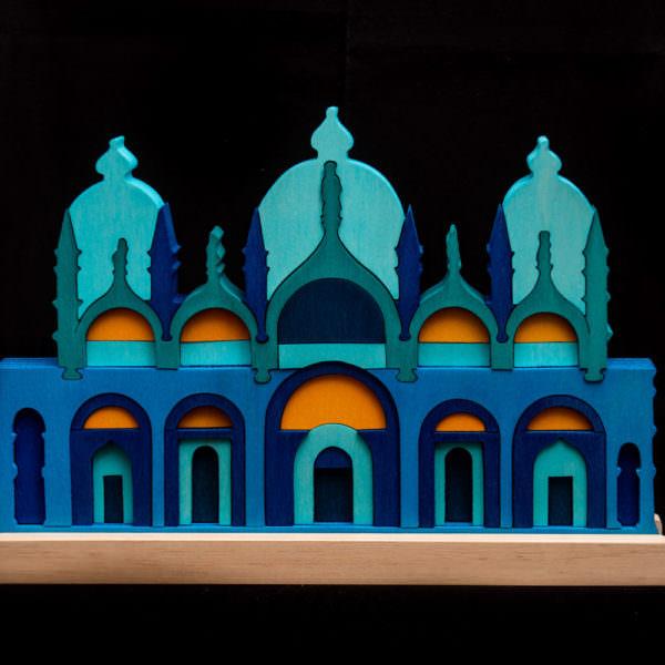 basilica di San Marco in legno signor blum