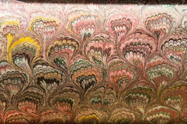 carta marmorizzata scriba