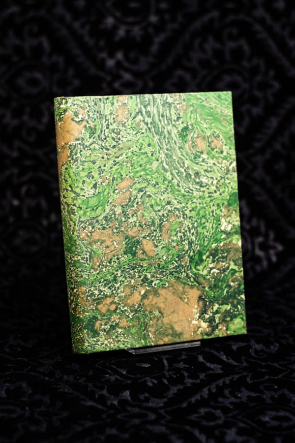 libri in carta marmorizzata scriba