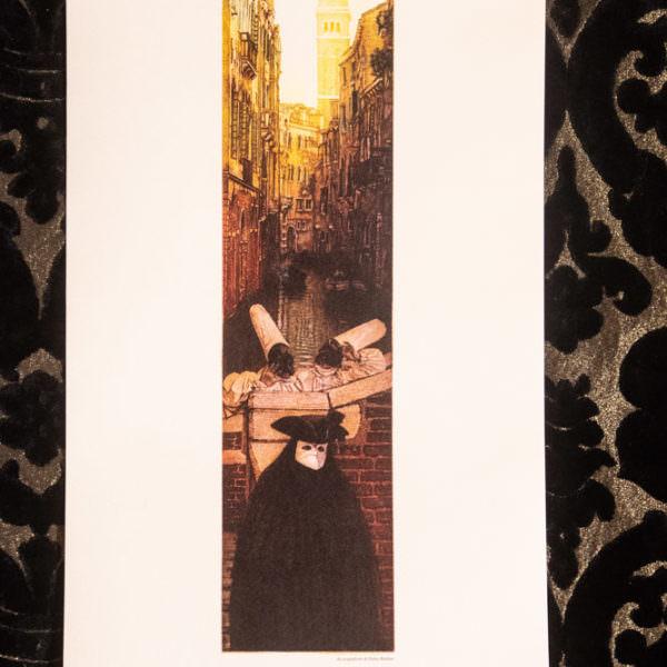 pulcinella a venezia carnevale locandina
