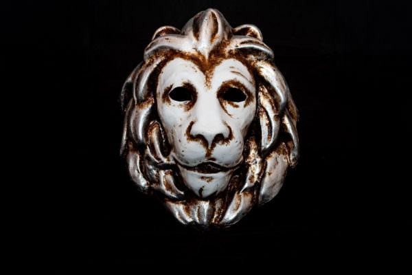 Leone veneziano maschera bluemoon venice