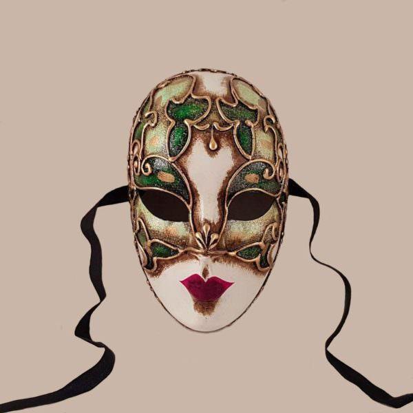 volto cordone maschera classica bluemoon venice