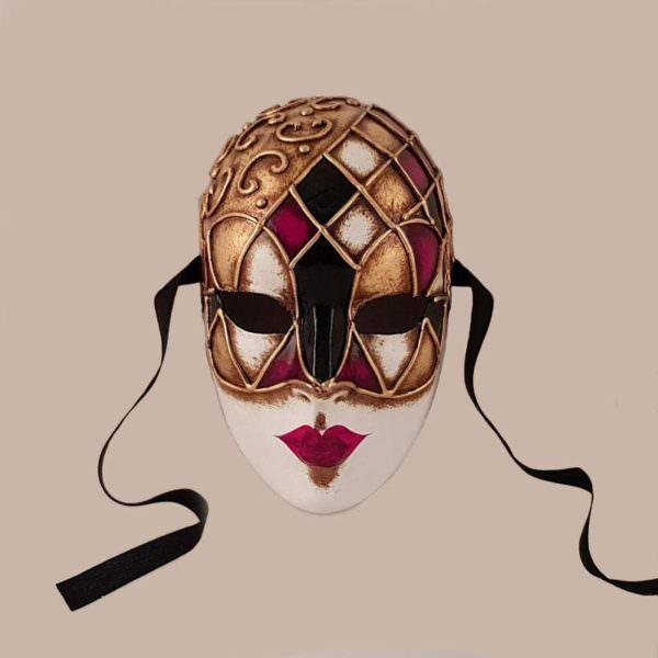 volto ibiz maschera classica bluemoon venice