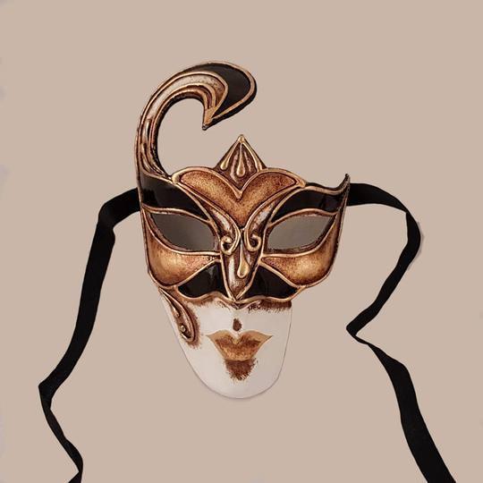 volto decor maschera classica bluemoon venice